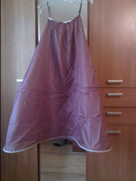 Korzetové šaty fialovočierne, 38