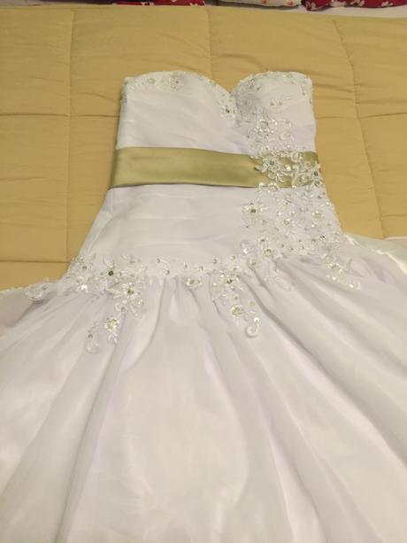 Svadobné šaty veľ.40, 40