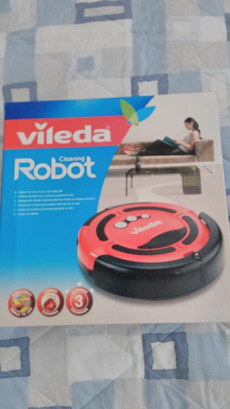 robotický vysávač vileda,
