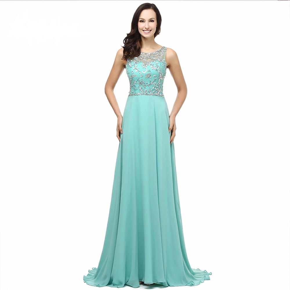 c497cd38559 Společenské nebo večerní šaty mátové
