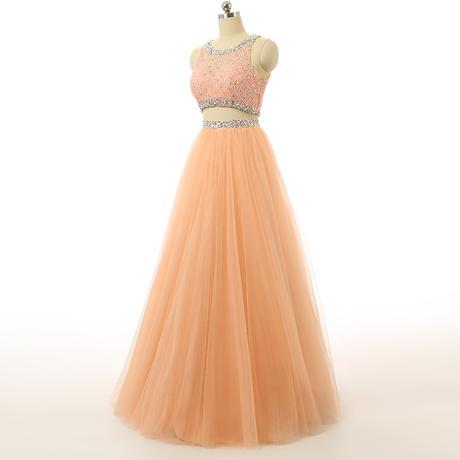 Plesové šaty Dvoudílné, 38