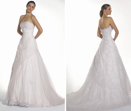 Půjčím svatební šaty ciderella bílá, 38