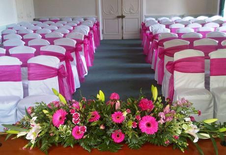 Svatební luxusní potahy na židle,