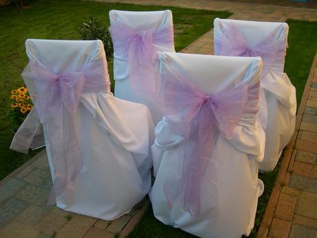 svatební potahy,