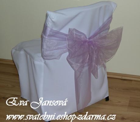svatební potahy na židle- Konferenční židle,