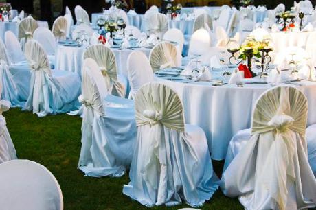 svatební potahy na židle-různé velikosti,