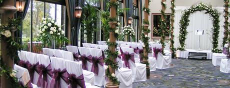 Svatební potahy, ubrusy, rautové sukně,