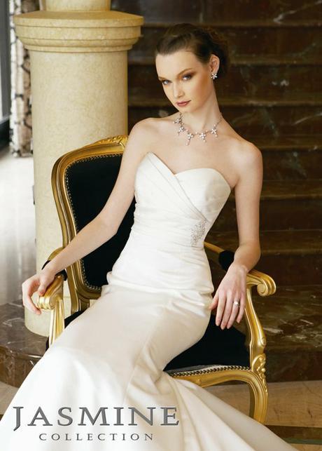 Svatební šaty zn Jasmine, 36