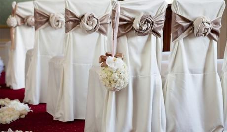 Svatební výzdoba v akci,