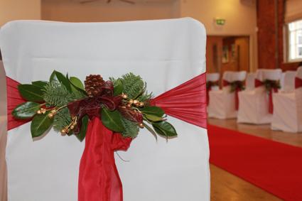 Vánoční potahy- dekorace,