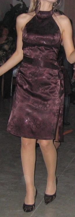 Hnedé šaty , 36