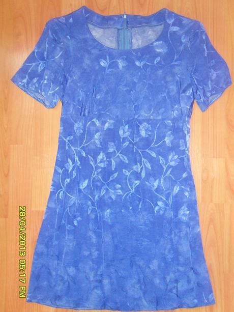 Saténové šaty - 36, 36