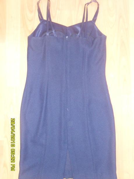 Šaty na ramienka s bolérkom - 36, 36