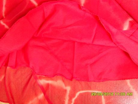 Sýto červené šaty 36/38 , 36