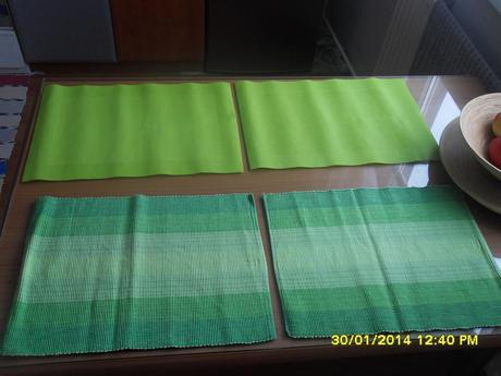 Zelené prestierania,