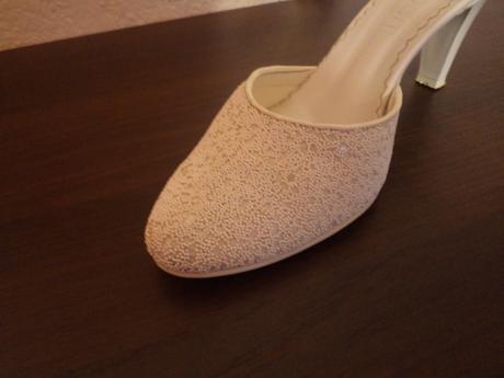 Biele svadobné topánočky, 39