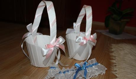 Svadobné košíčky,
