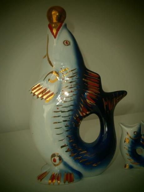 porcelánová súprava - ryby,