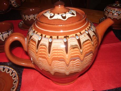 Bulharská retro keramika,