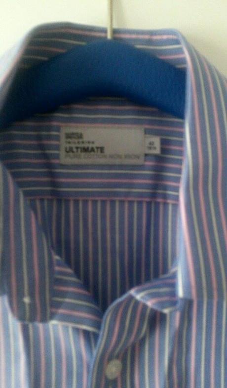 Kvalitná pánska košeľa zn. M&S  veľ.42, 42