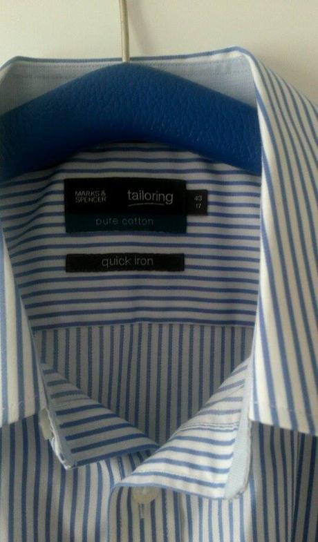 Kvalitná pánska košeľa zn. M&S  veľ.43, 42