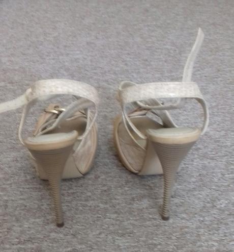 Sandálky na platforme, 40