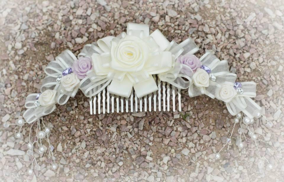Svatební hřebínek do vlasů 28691449b8