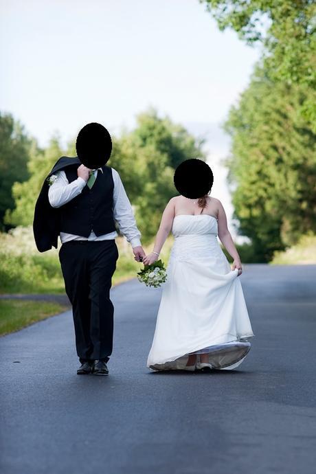Svatební šaty slonová kost, 44