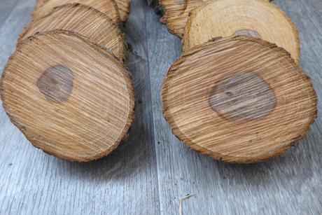Dřevěné podtácky, přírodní, vintage styl,