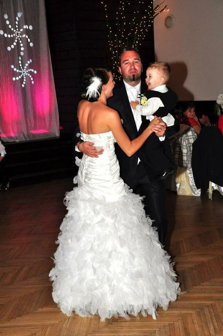 Svadobné šaty - lupienkové 38 -, 36