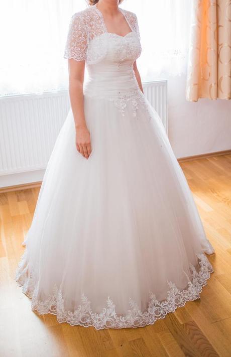 Svatební šaty 36, 38