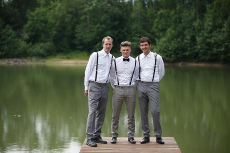 Pánské kalhoty šedí slim fit, 50