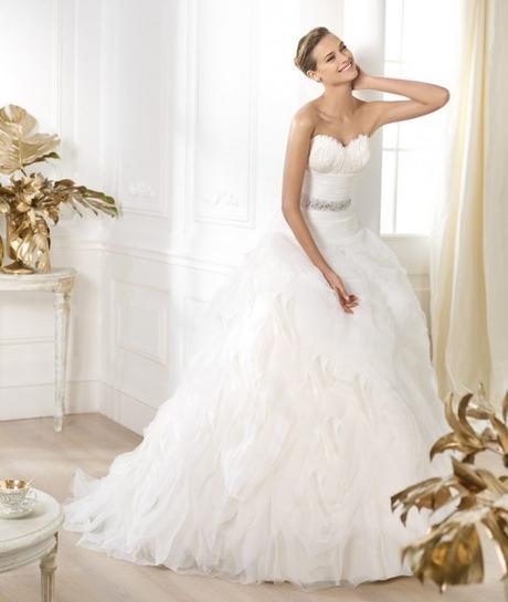 Svatební šaty Pronovias Leina velikost 34-38, 36