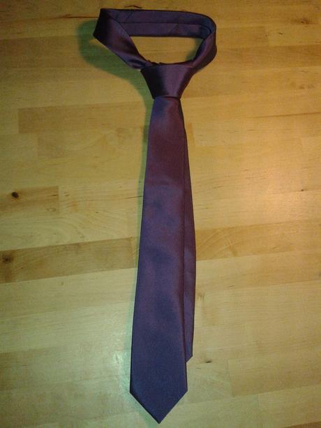 Fialová kravata Next,