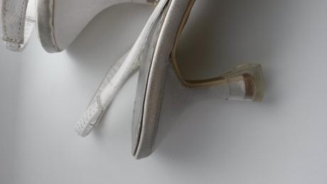 Svatební botky na nižším podpatku, 37