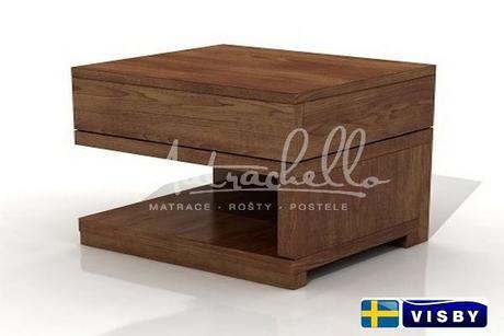 Borovicový noční stolek Lagerkvist,
