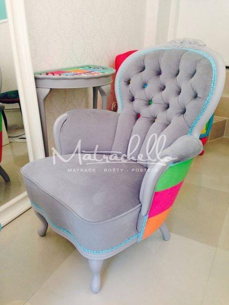 Fotel Divali Acrobaleno,
