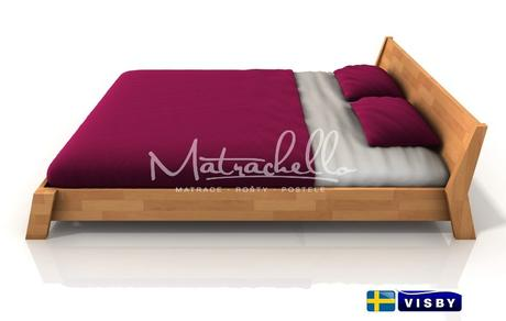 Masivní buková postel Rocco v rozměru 140x200 cm,