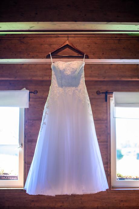 Svatební tylové šaty , 36