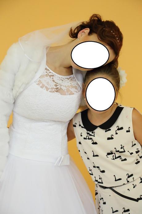 Svatební šaty Madora s doplňky, 38