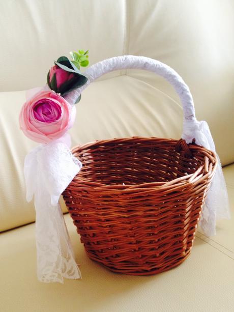 svatební košíček,
