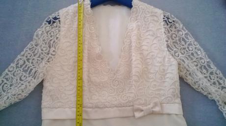 Svatební šaty krátké nebo půlnoční šaty, 38
