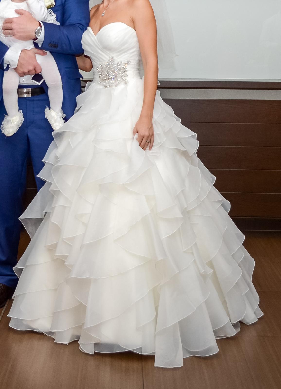 2eadb5358b Svadobné šaty allure bridals zo salóna diva