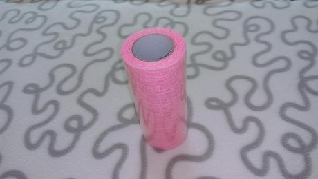 Růžová krajka (běhoun) - 10m,