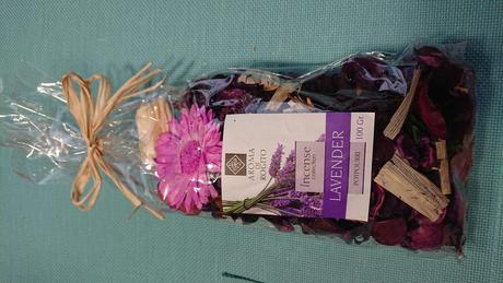 Sušené květiny - lavender,