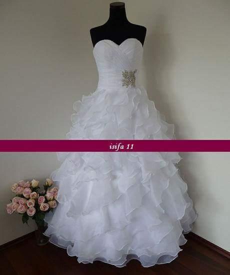 svadobné šaty 34 pre nízke nevesty , 34
