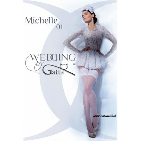 Samodržiace pančuchy Gatta Michelle 01, XL