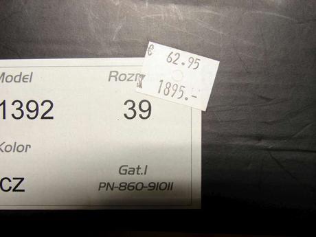 kožené lakovky, 39