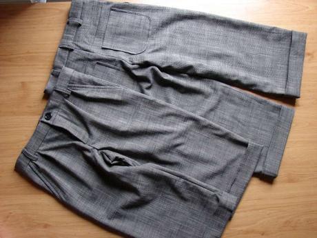 nohavice s manžetou, 92