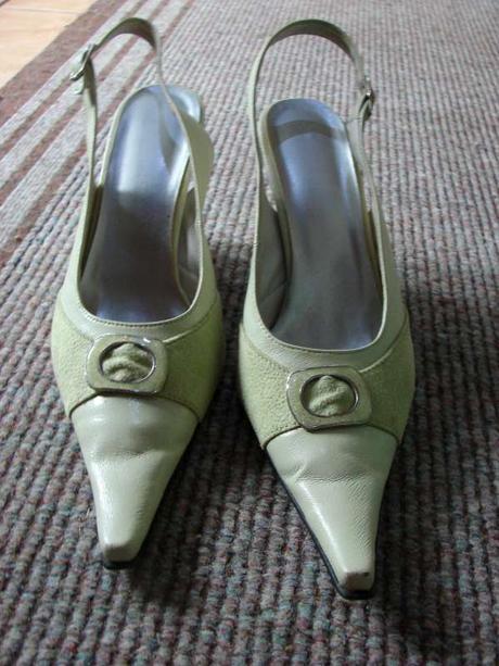 zelené sandálky, 39